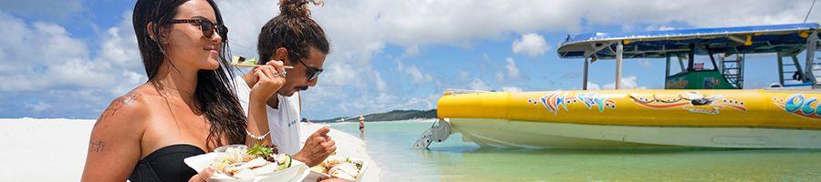 Ocean Rafting Lunch