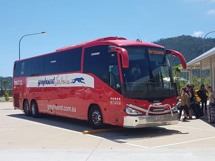 Greyhound Bus to Brisbane, Australia