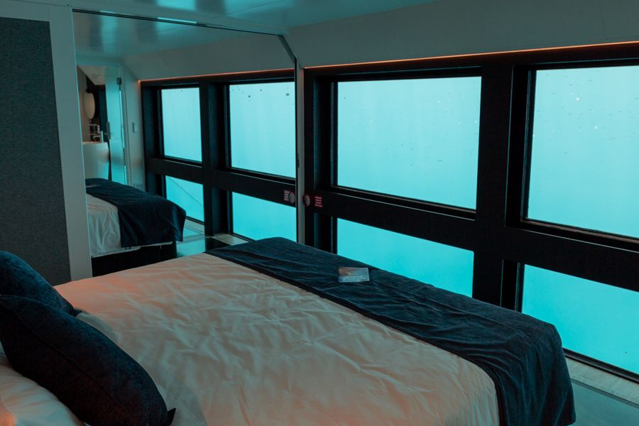 Cruise Whitsundays ReefSuites, Great Barrier Reef Australia room with a view
