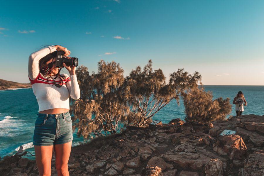 Indian Head lookout Fraser Island Kgari australia