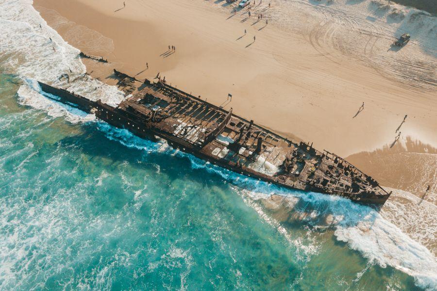 S.S. Maheno Shipwreck Fraser Island