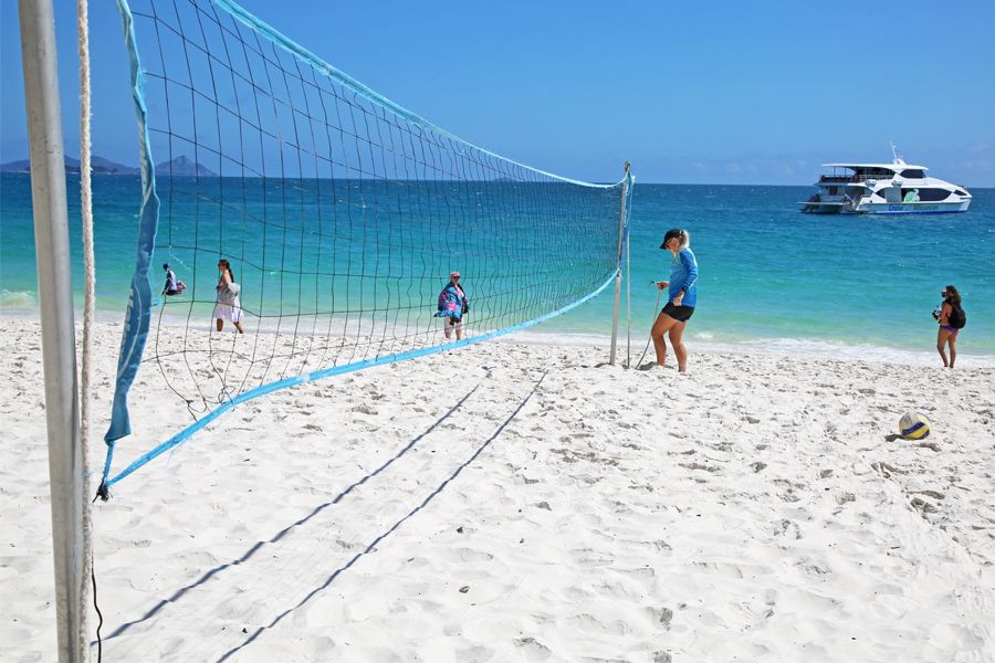 Whitehaven Beach Volley Ball Beach sports