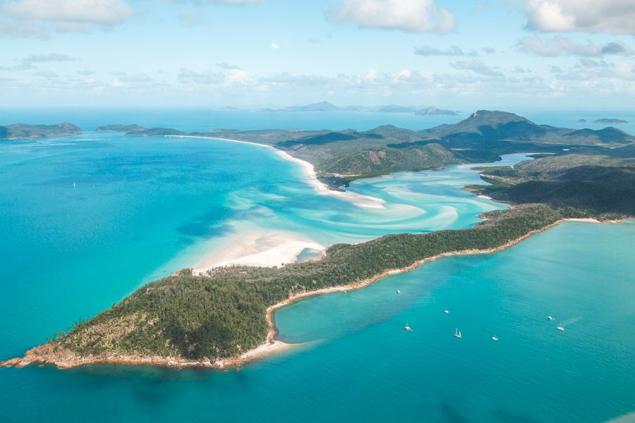 Whitehaven Beach Scenic Flight Whitsundays