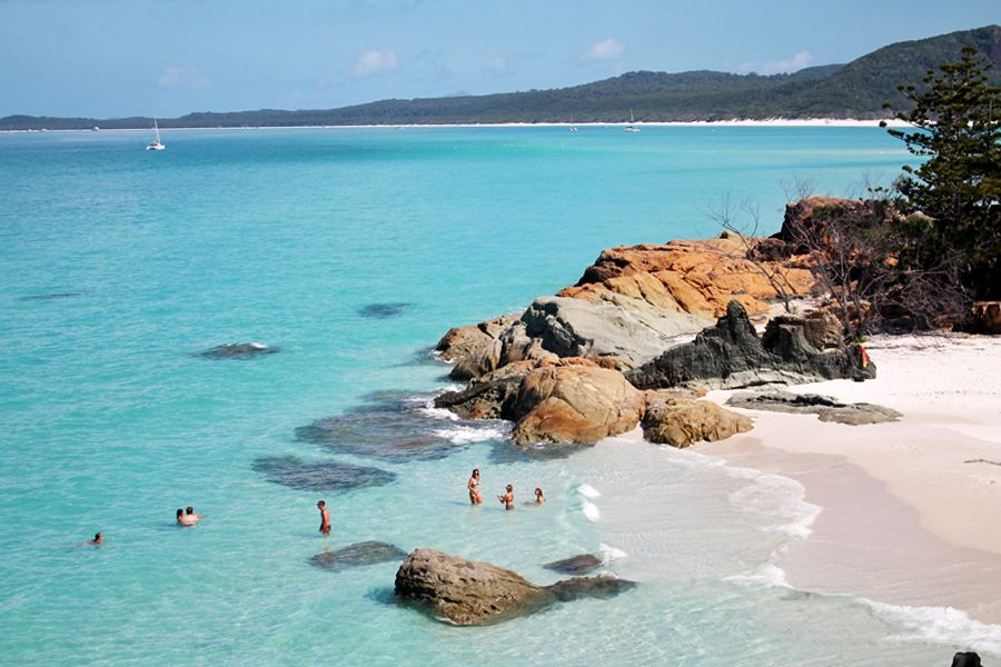 Betty's beach whitehaven whitsundays australia