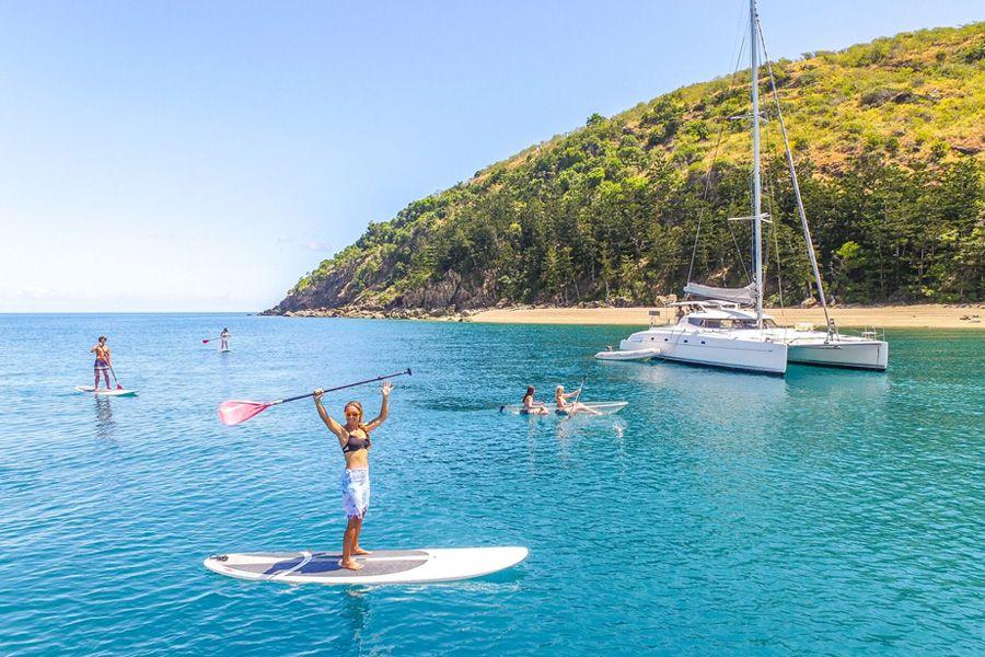 paddleboarding, entice