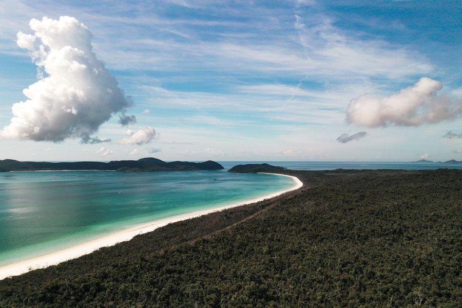 South Whitehaven Beach Whitsundays Queensland Australia