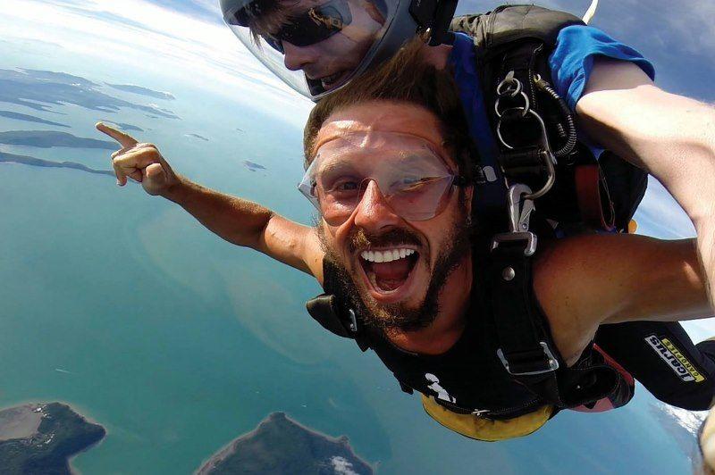 skydive, airlie beach