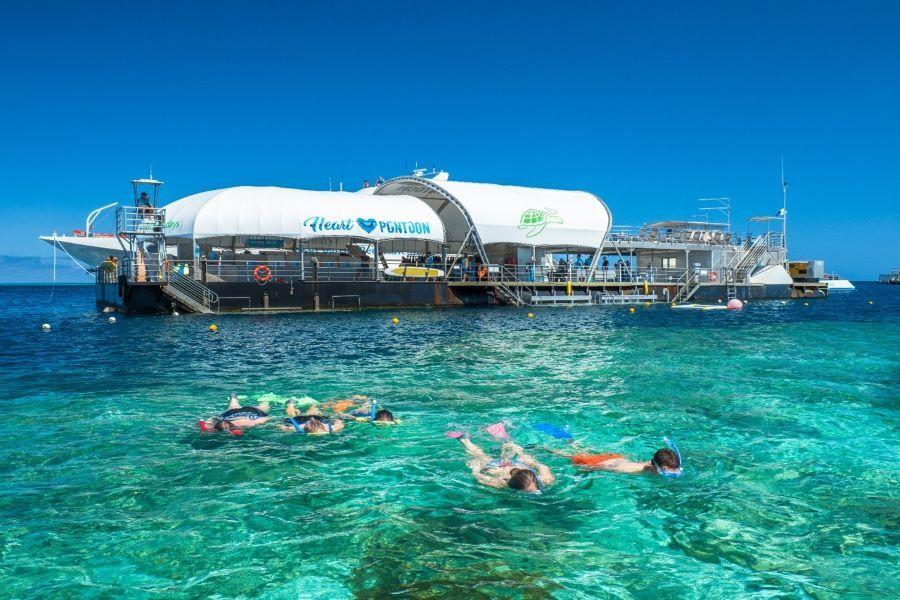 Cruise Whitsundays Great Barrier Reef Pontoon Whitsundays
