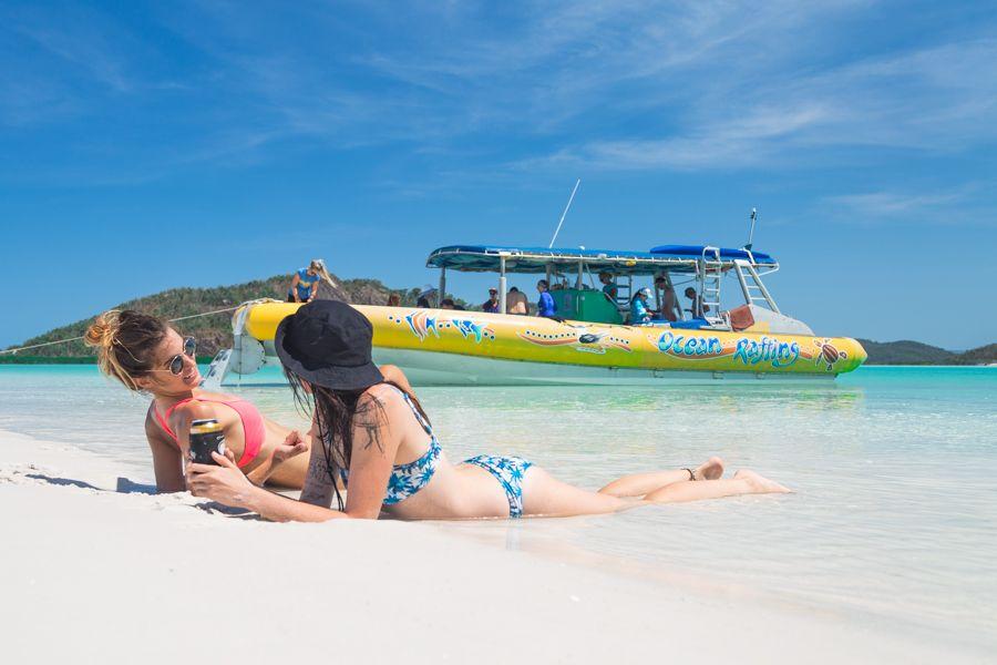 Ocean Rafting Whitsundays Whitehaven Beach