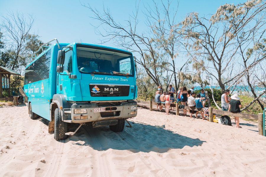 Fraser Explorer Guided Tour, Fraser Island