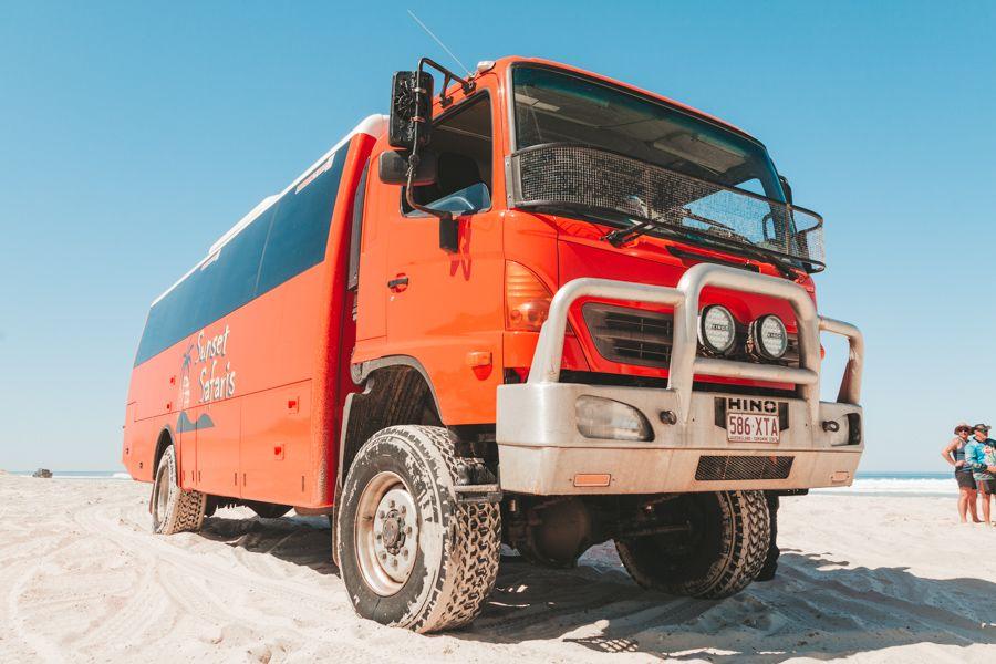 Sunset Safari Guided Eco Tour, Fraser Island