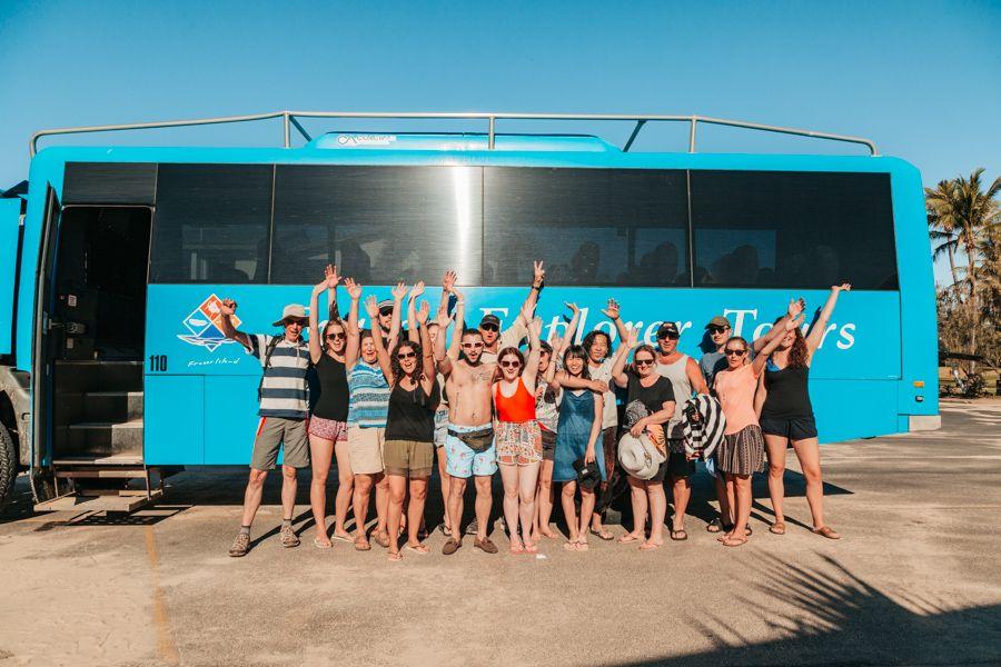 Fraser Explorer Day Tour on Fraser Island