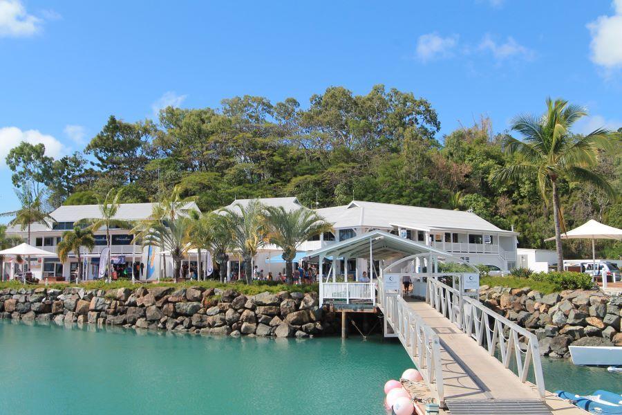 Coral Sea Marina, Airlie Beach Whitsundays Jetty