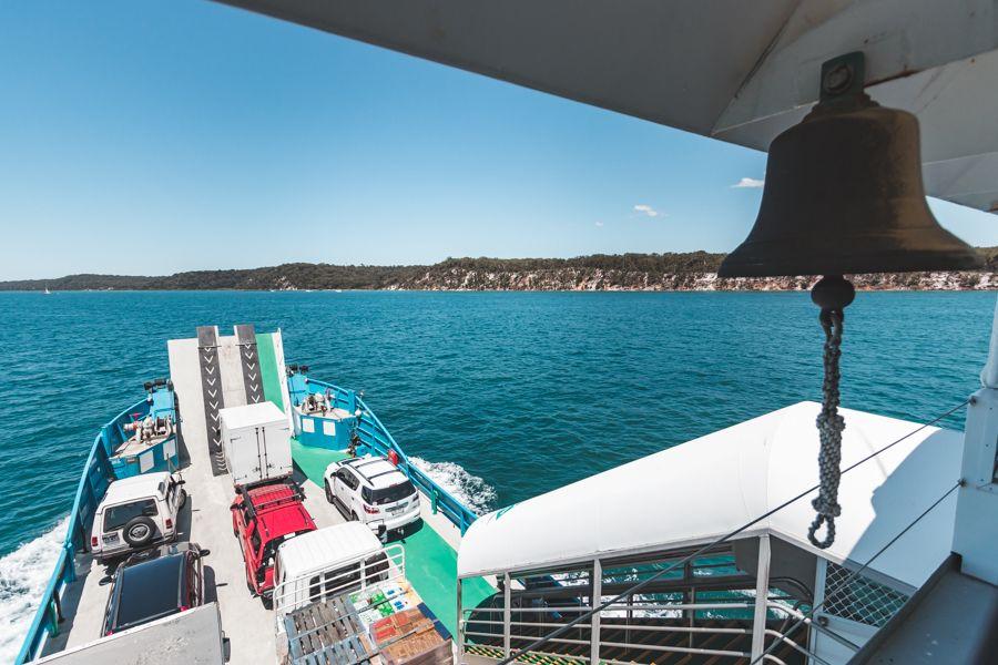 fraser island barge
