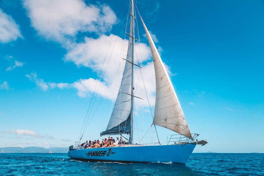 hammer, sailing, whitsundays