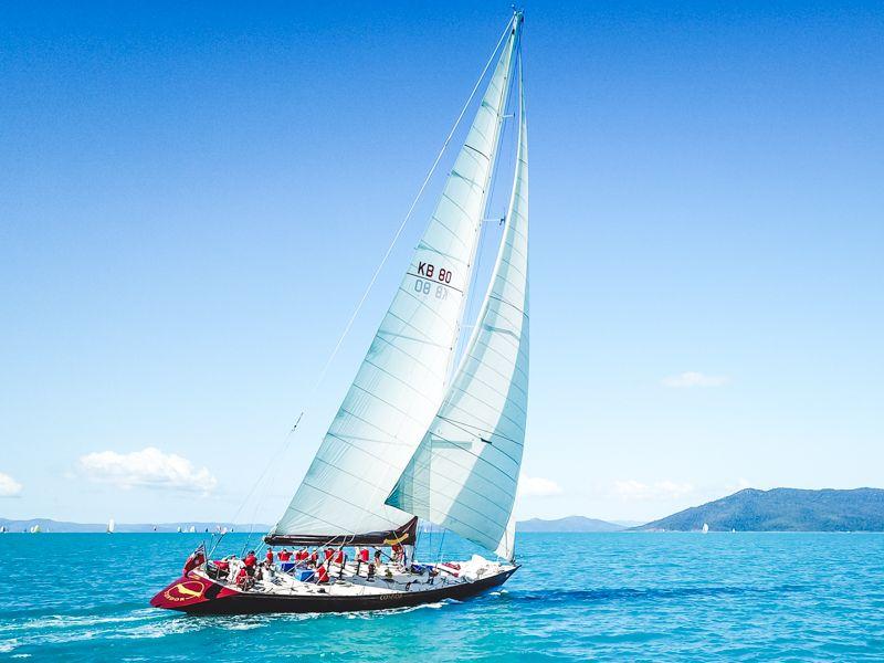 condor, sailing, whitsundays