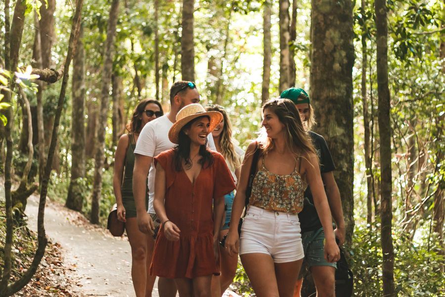 Pile Valley walk, Fraser Island