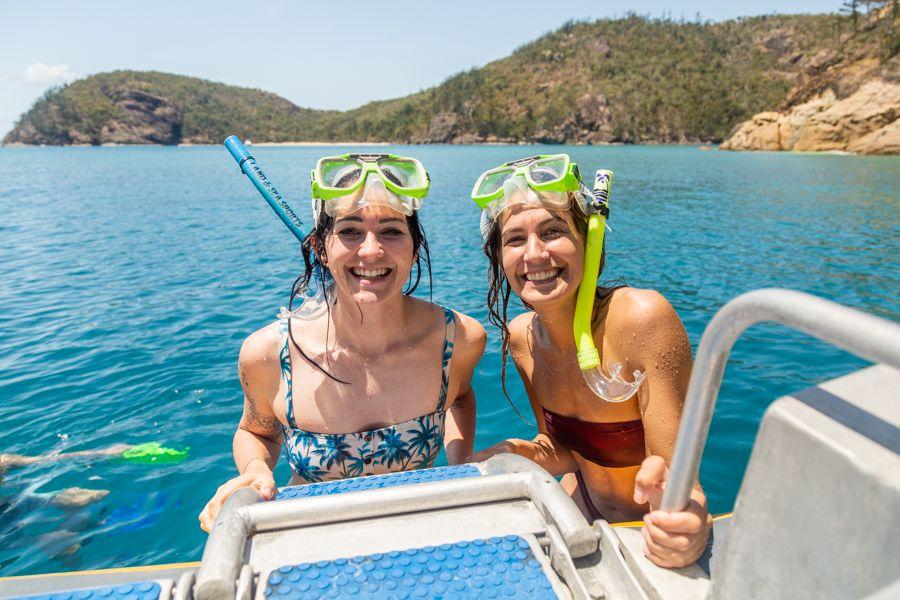 ocean rafting, snorkelling, whitsundays