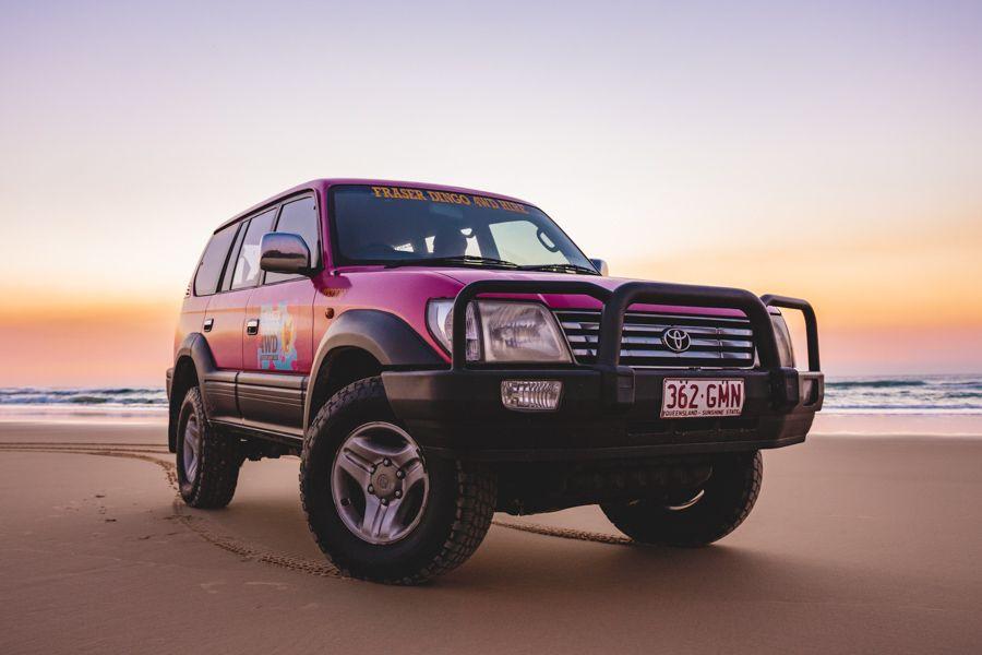 Fraser Dingo 4WD hire, Fraser Island