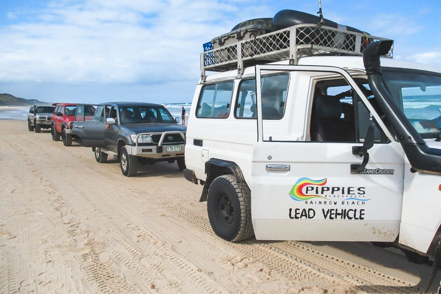Pippies Tag-Along Tour, Fraser Island