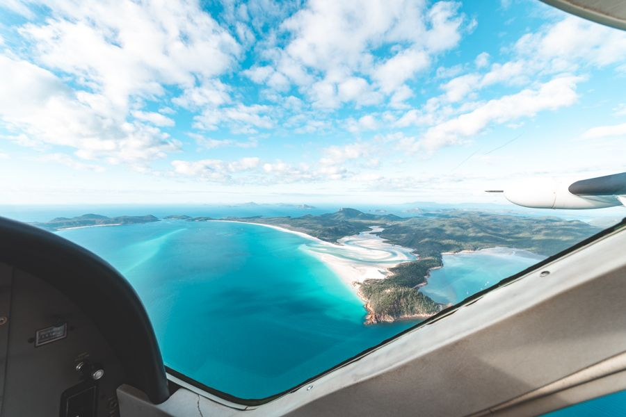 Scenic Flight over Whitehaven Beach, Whitsundays