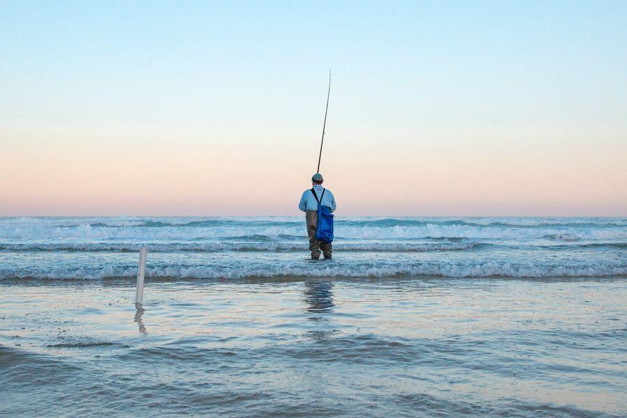 fishing, fraser island