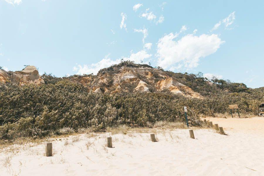 The Pinnacles, Fraser Island