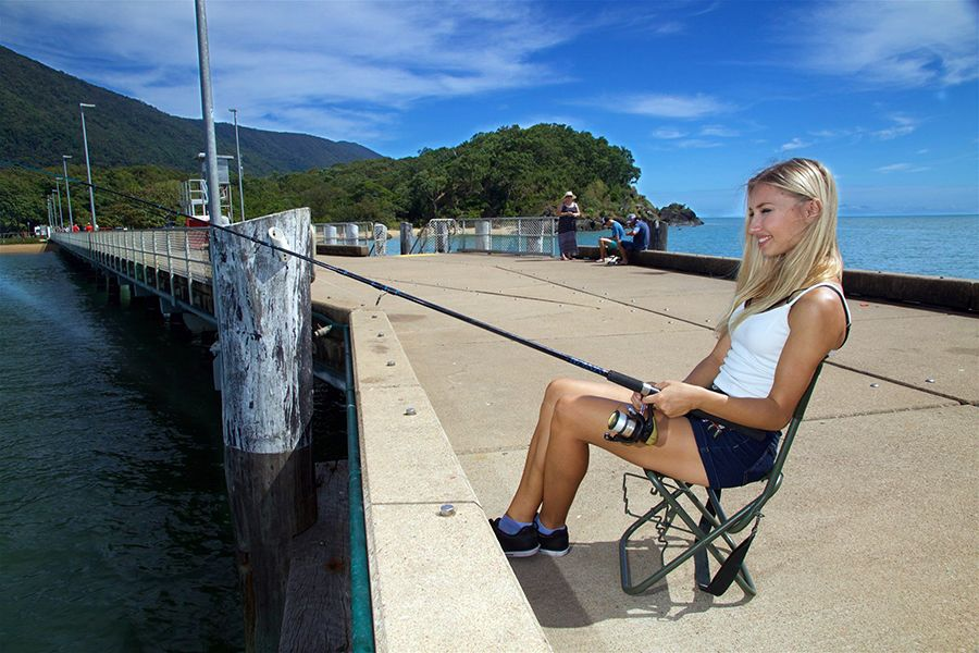 cairns fishing jetty