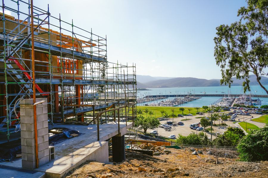 Airlie Beach is a great spot for builders