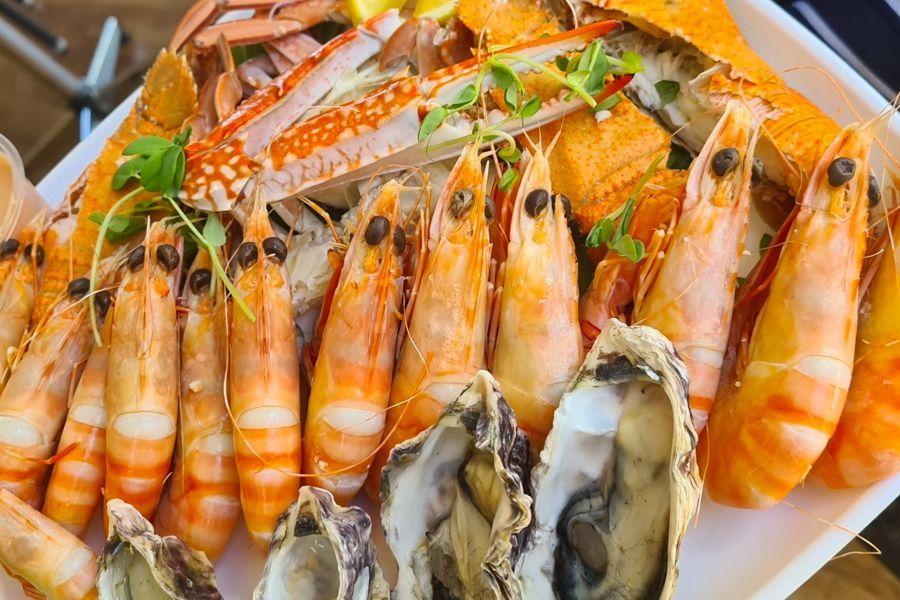 Fresh Seafood, Prawns and Fish, Airlie Beach, Sailing