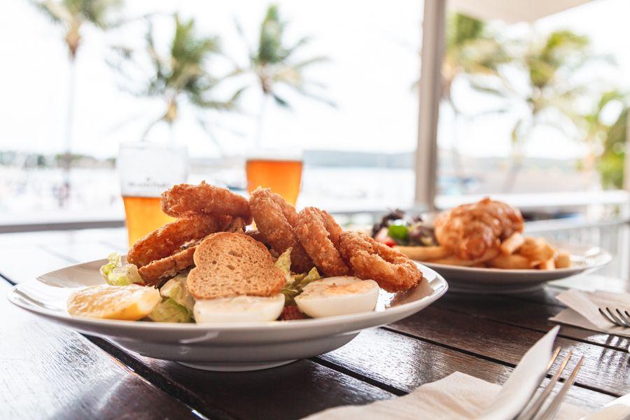 food at hamilton island
