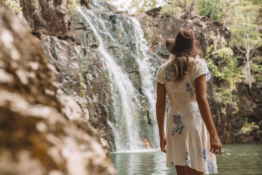 Cedar Creek Falls, Whitsundays, Australia