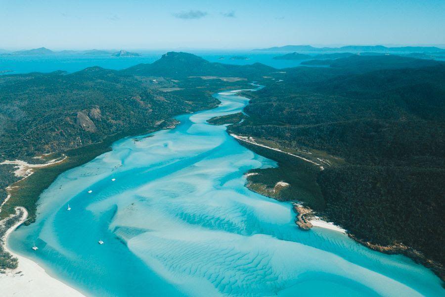 Hill Inlet, Whitsundays, Australia