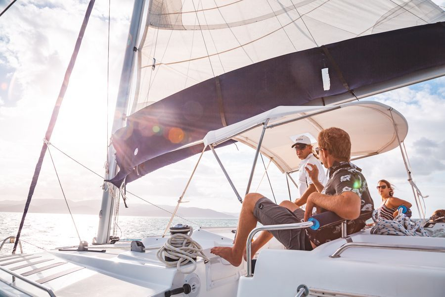 Getaway Whitsunday Sailing Catamaran in the Whitsunday Islands for couples