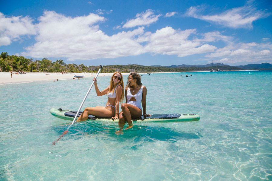 The Whitsunday Weather Stand-up paddleboard