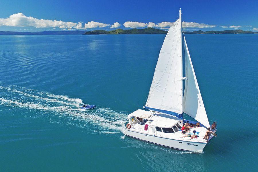 Whitsunday Adventurer, Whitsunday Catamarans, Sailing