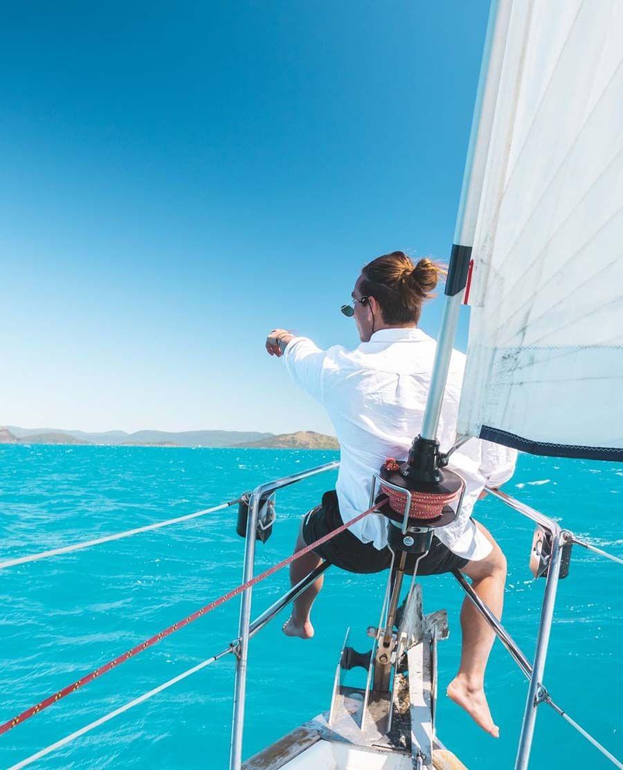 Whitehaven Beach Sailing, Whitsunday Island, Whitsunday Catamarans Instagram