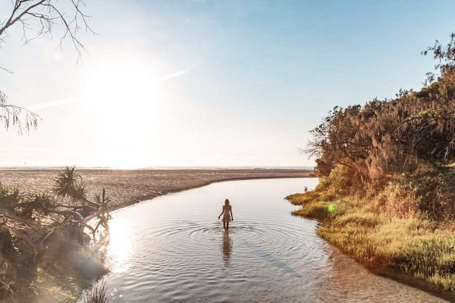 Fraser Island, Eli Creek, 4 day tour combo