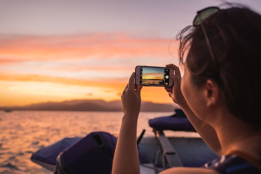 Sunset Cruise Colours Instagram