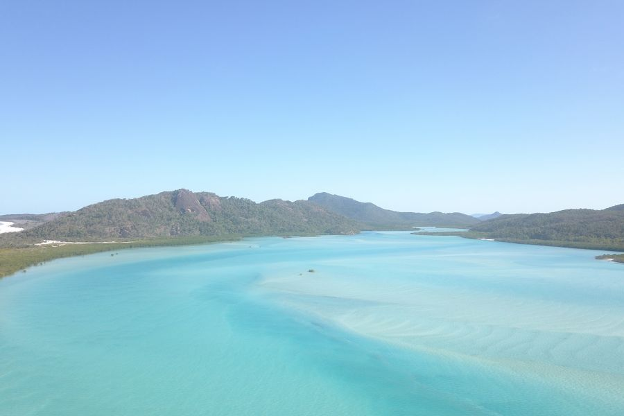 Whitsunday Island Aerial Whitsundays Great Barrier Reef Marine Park discover today
