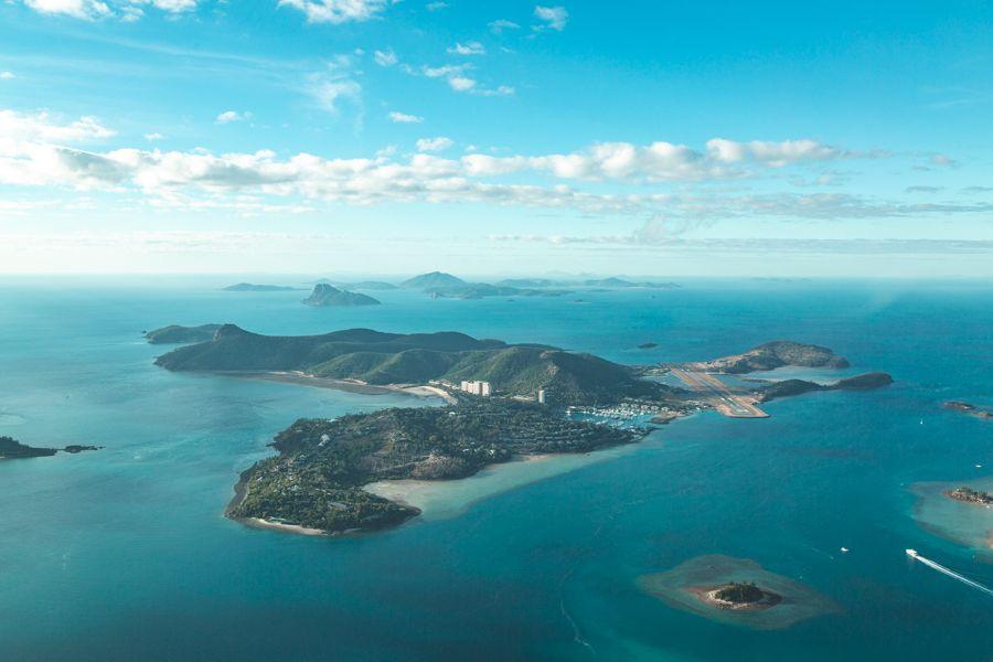 Hamilton Island Aerial Whitsunday Islands