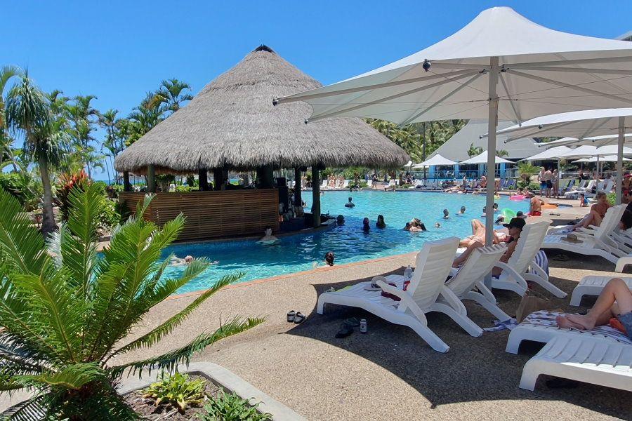 Swimming pool on Hamilton Island