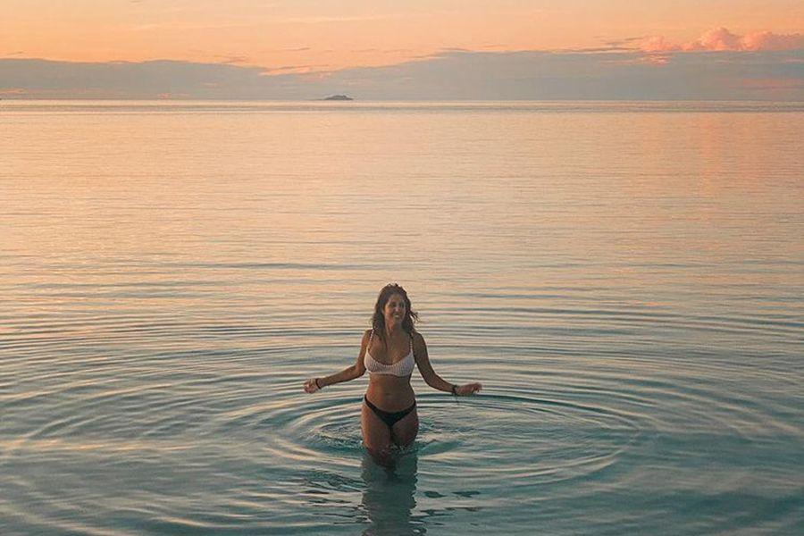 Maria Locato Instagram Whitehaven Beach Influencer