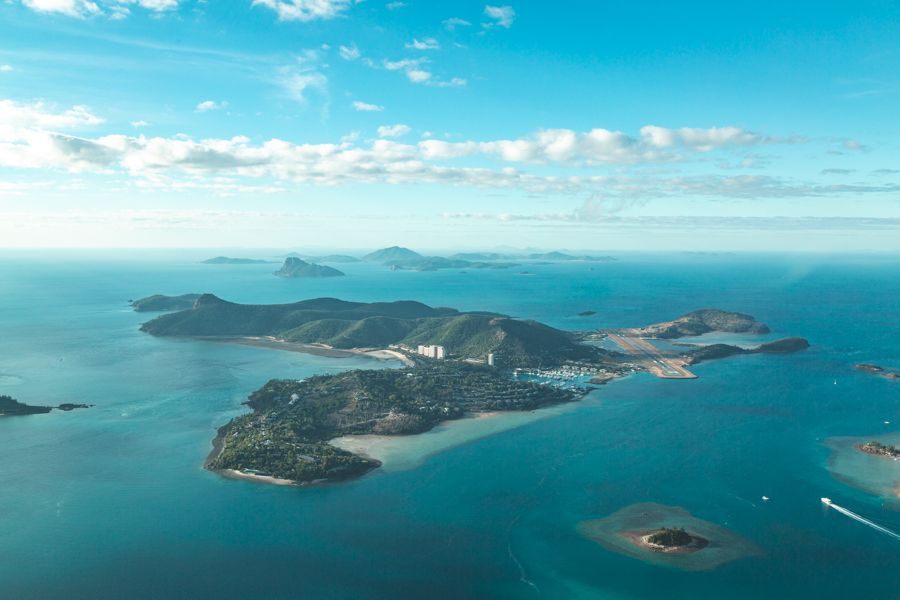 Hamilton Island famous in the Whitsundays tourist hub luxury resorts