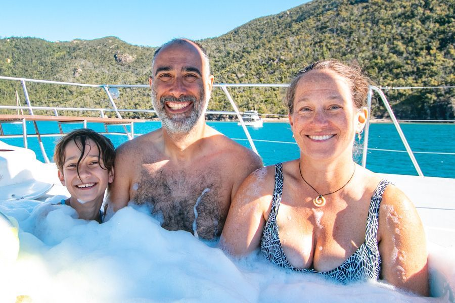 Family Spa Whitsunday Adventurer Private Charter Luxury