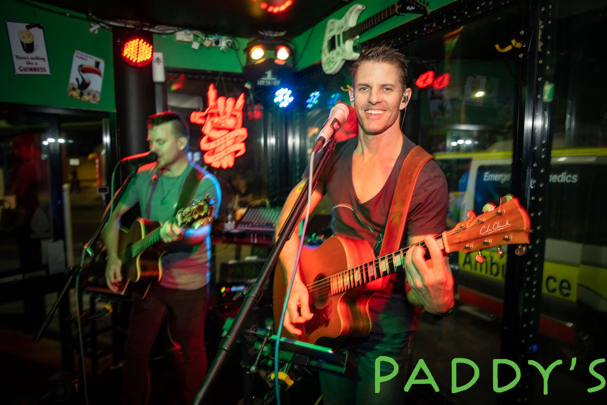 Paddy's shenanigans live music
