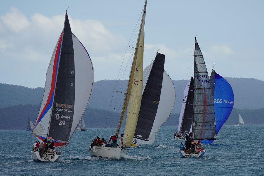 Airlie Beach Race week 2021 thread the needle