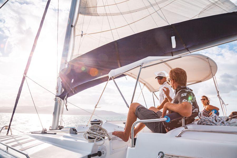 whitsunday getaway, sailing whitsundasy