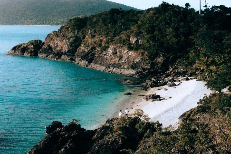 Tik Tok Hayman Island secret bays Whitsunday Island