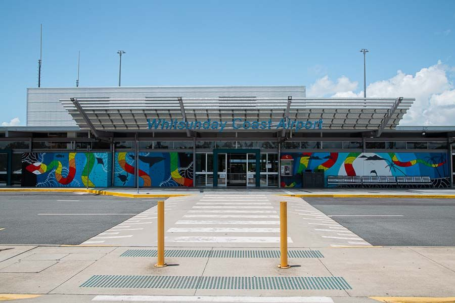 flight Whitsunday Coast Airport COVID tourism Skytrans